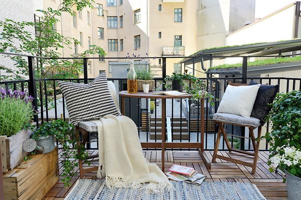 kako urediti stan balkon