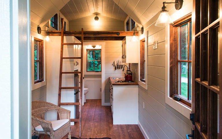 male kućice s malim trijemom kuhinja