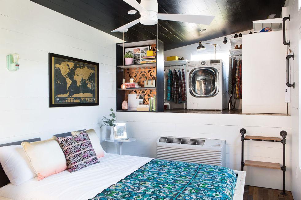 male kucice Eklektički šarena kuća krevet