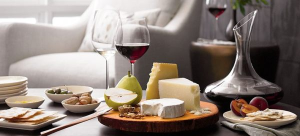 dom zabava vino i sir