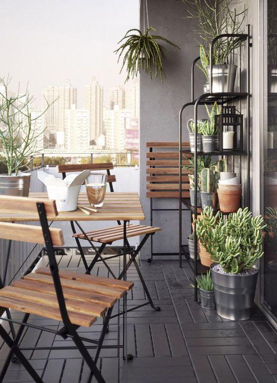 kako mali prostor učiniti većim balkon