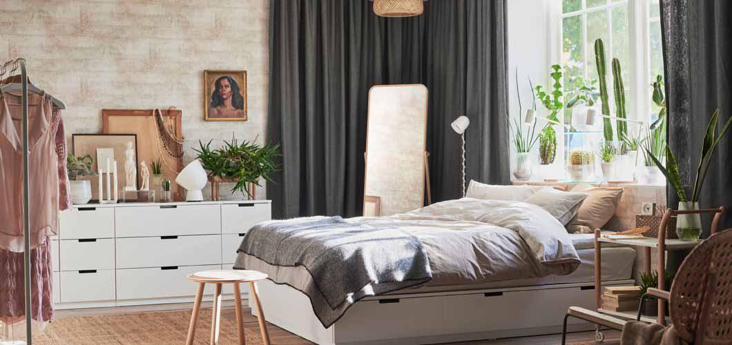 Kako urediti manju spavaću sobu?