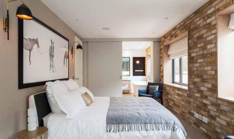 Klizna vrata za manju spavaću sobu