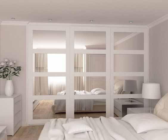 Klizni ormar za manju spavaću sobu
