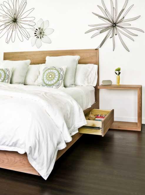 Ladice u krevetu