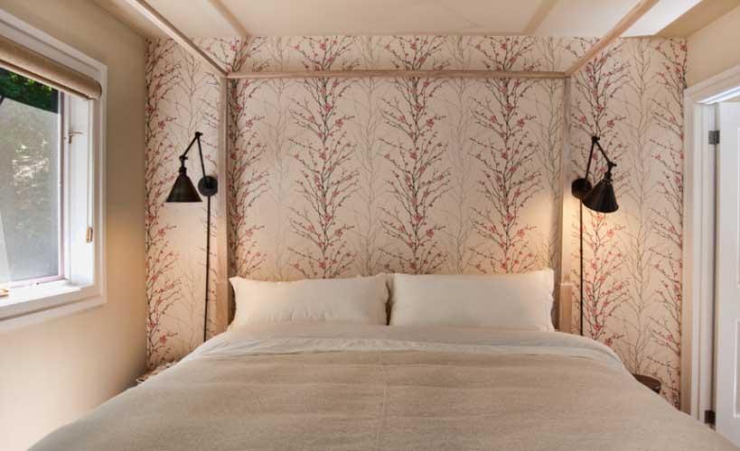 Zidne svjetiljke oko kreveta