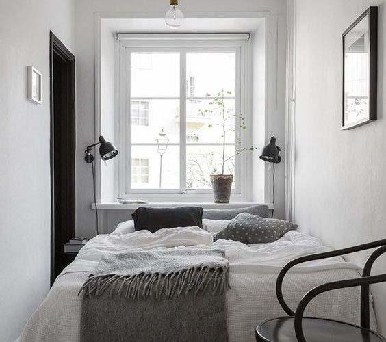 Uredite manju spavaću sobu sa zidnim svjetiljkama