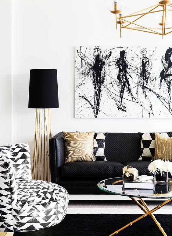 crno bijeli dizajn in 2018 trend