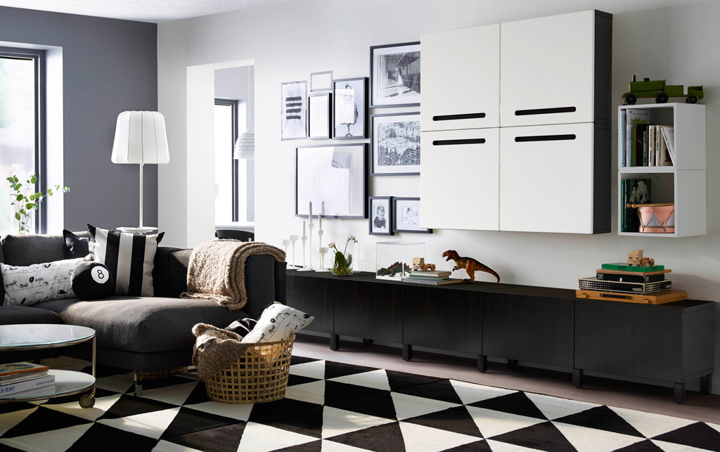 trendovi 2018 godine crno bijeli dizajn