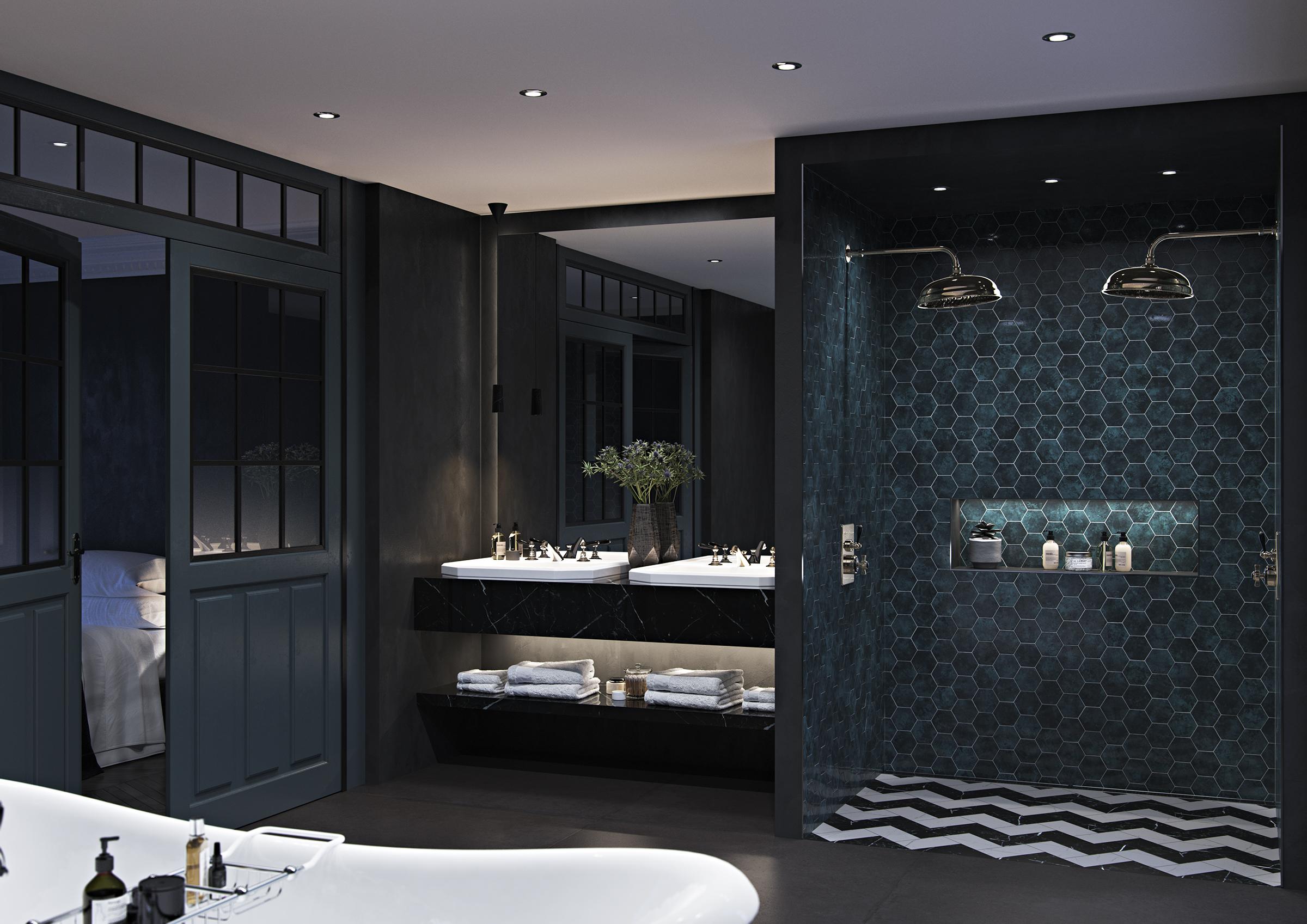 8 ideja kako osvijetliti tamnu kupaonicu
