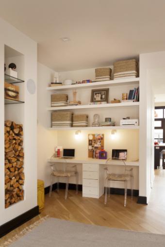 kako raditi od doma mali prostor za stol
