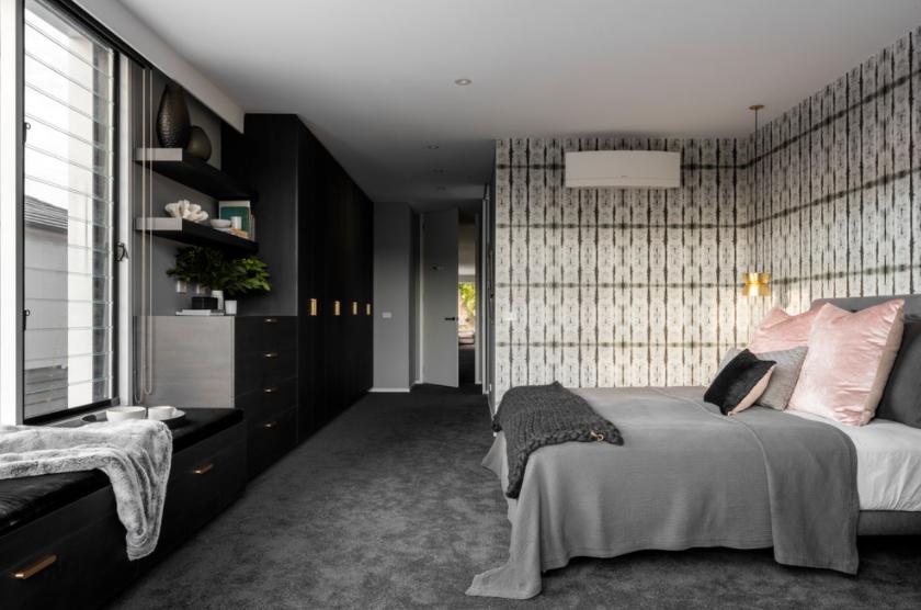 Tamnija boja tepiha u spavaćoj sobi