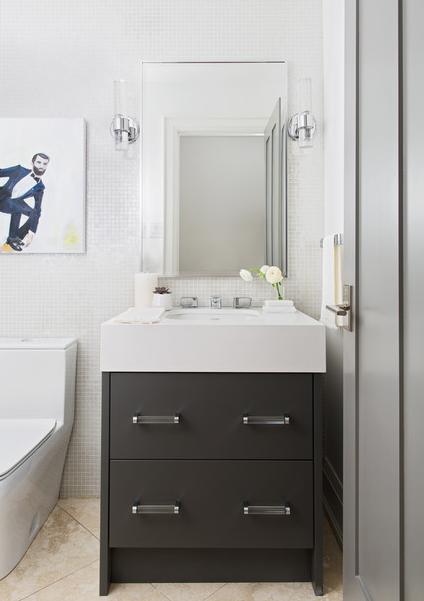 jednostavno ogledalo u kupaoni