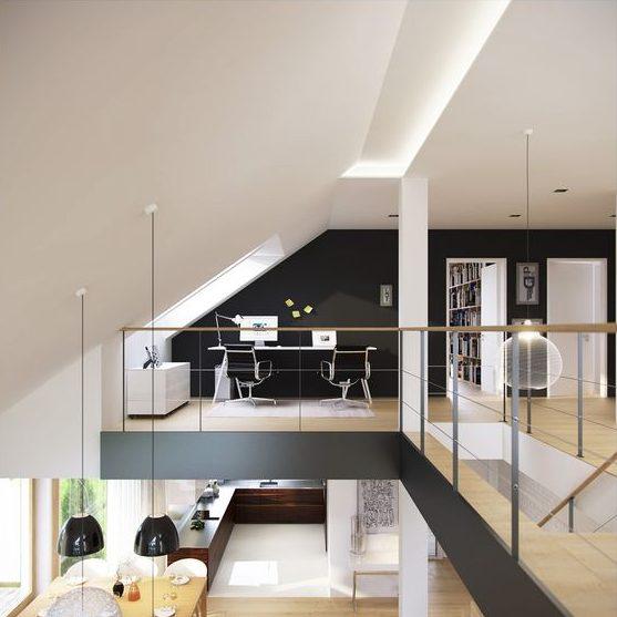 dvije etaže u potkrovlju