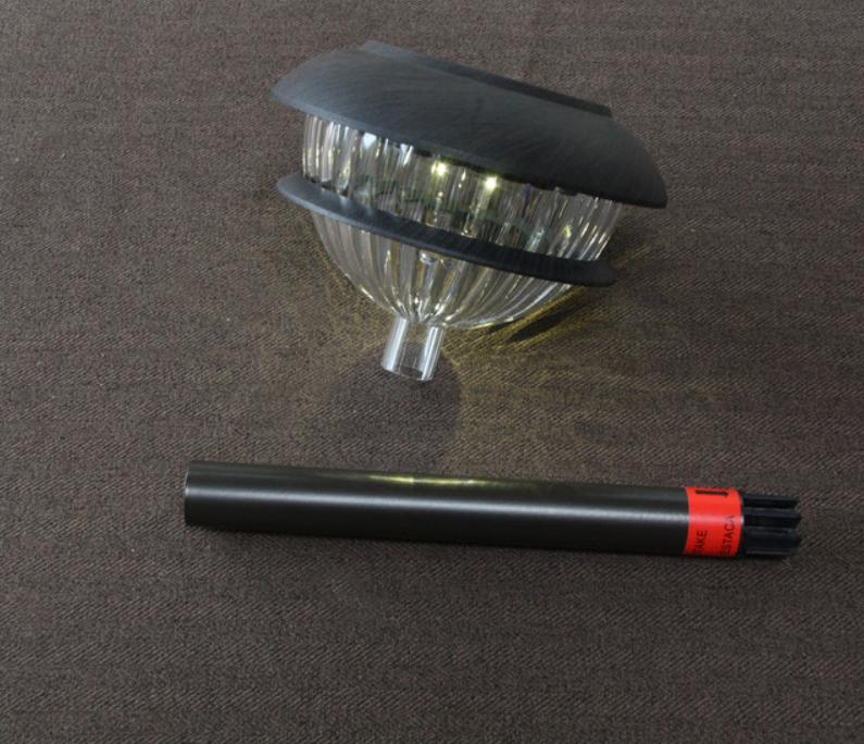 Dijelovi solarne svjetiljke