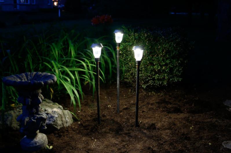 dyi lampa za vrt