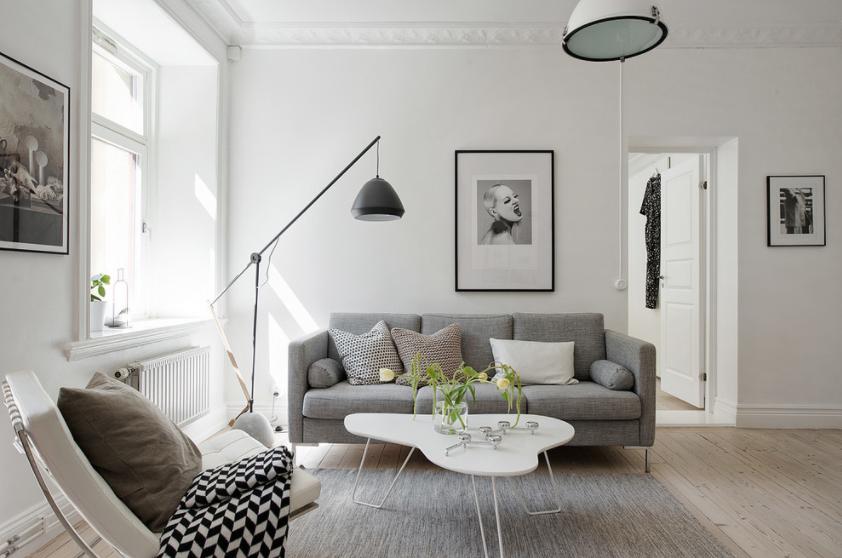 Dobre kombinacije namještaja za tijesne dnevne sobe