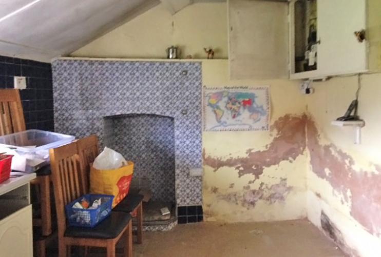 Zadnji dio stare kuhinje