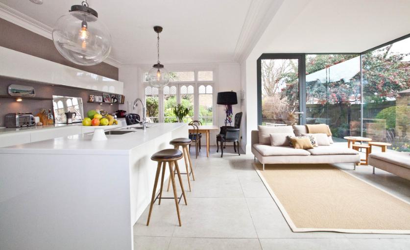 Jedno od pravila za dizajn interijera je da namještaj ima prostora