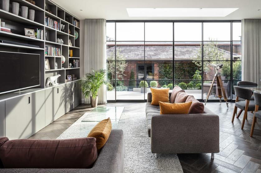 Prozori u dizajnu interijera