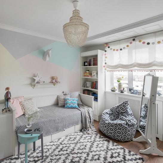 Ideja paleta boja za uređenje dječje sobe