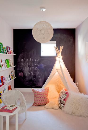 Jednostavna ideja za uređenje dječje sobe
