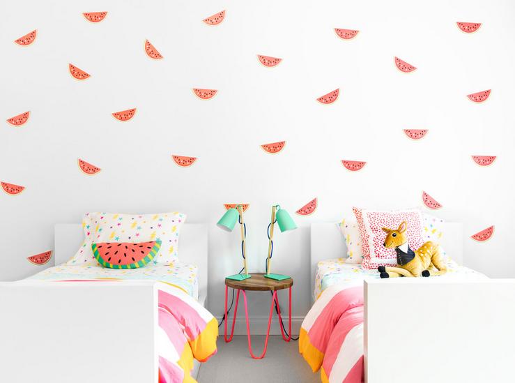 Jednostavna paleta boja za uređenje dječje sobe