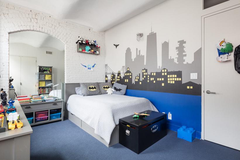 Kombinacija boja za uređenje muške dječje sobe