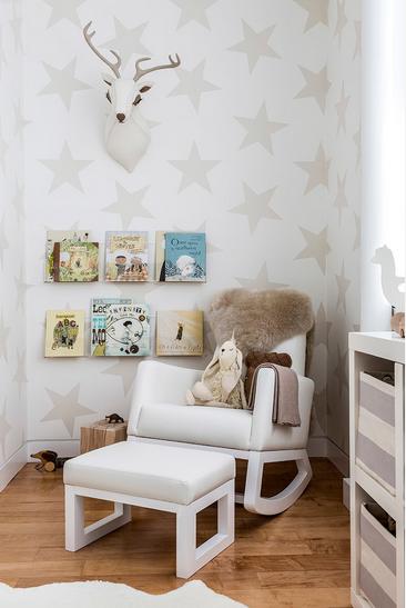 Uređenje dječje sobe sa kutkom za odmor