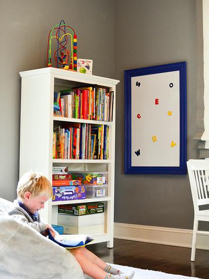 Mjesto za čitanje u dječjoj sobi