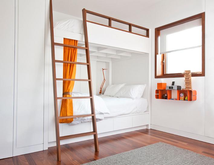 krevet na kat kao rješenje za uređenje dječje sobe