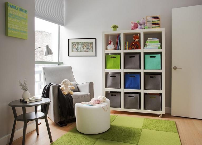 Uključite stolic u uređenje dječje sobe