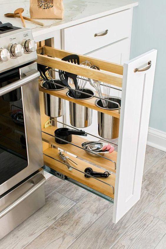 Prilagodba ladica vašim potrebama u maloj kuhinji