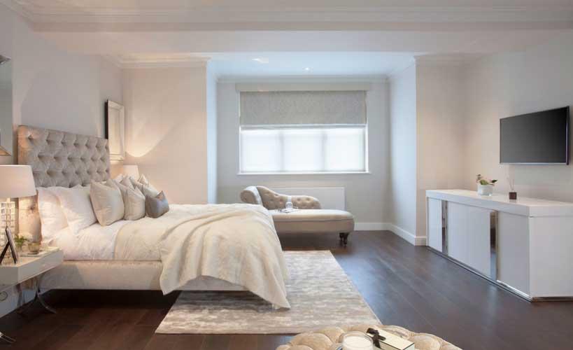 Podovi od punog drveta su dobar izbor u spavaćoj sobi