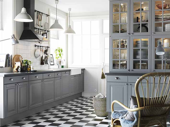 Kuhinjski elementi u kuhinji