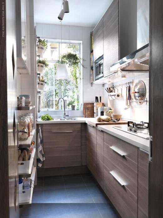 Raspored kuhinjskim elemenata u maloj kuhinji