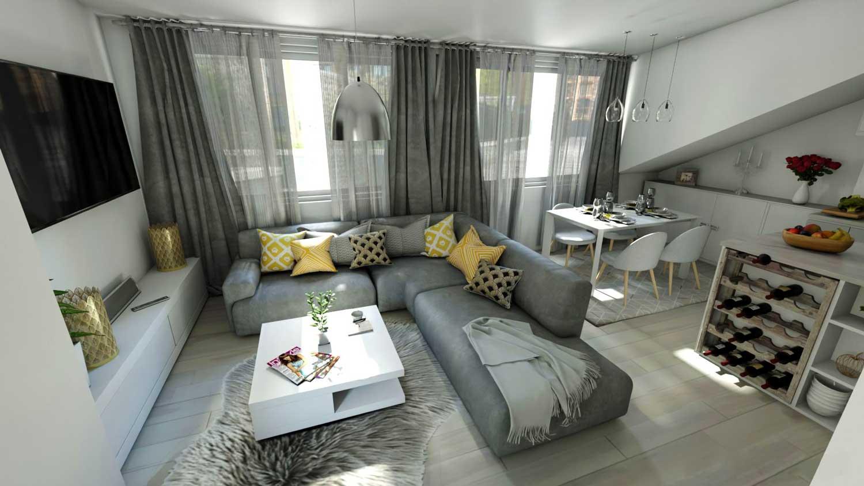 3D dizajn interijera Dom za mene