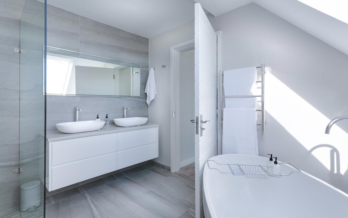 Lebdeći elementi čine kupaonicu većom