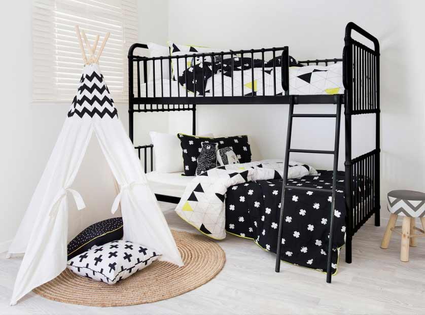 Krevet na kat za spavaću sobu