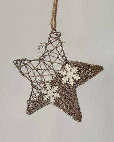 Zvijezda kao ukras za Bozic
