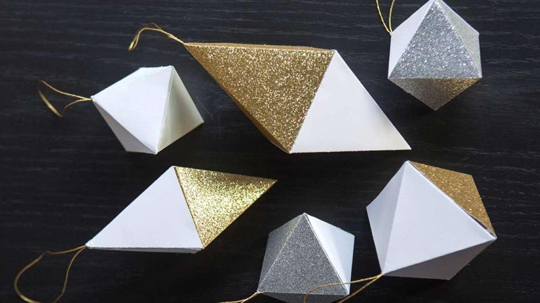 Dijamant od papira – DIY
