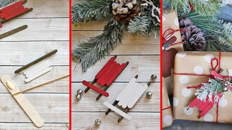 DIY Saonice kao božićni ukras