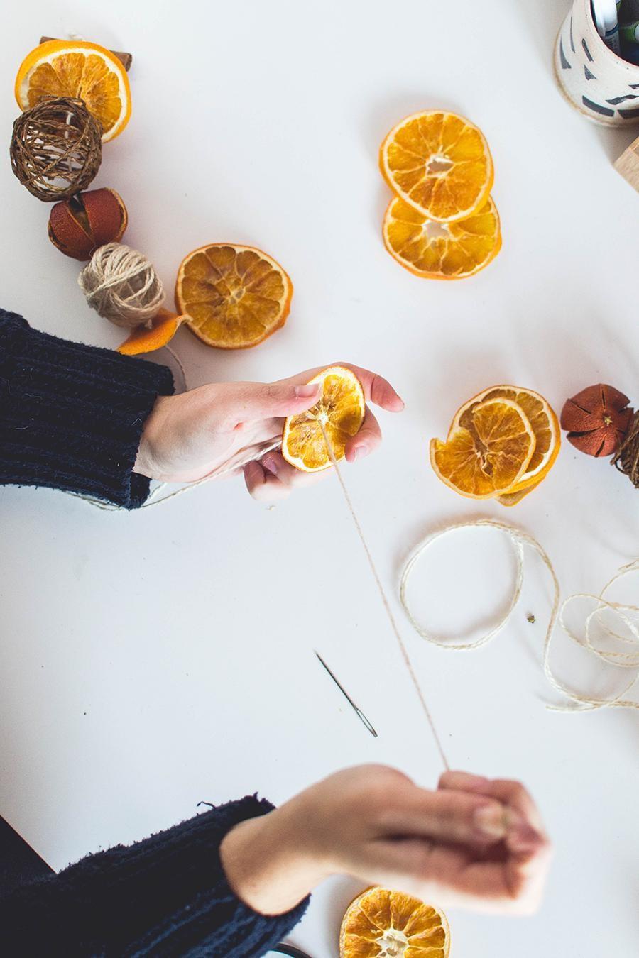 Priprema sušenih naranča